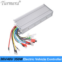 Turmera DC 36V 48V 350W Electric Vehicle Brushless Controllor DC Motor Regulator Speed Controller For Electric Bicycle E-bike A6(China)