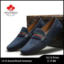 Men Loafers shoes 2020 Autumn Fashion Moccasins Footwear Suede Slip-On Brand Men's Shoes Men Leisure Walking Men's Casual Shoes