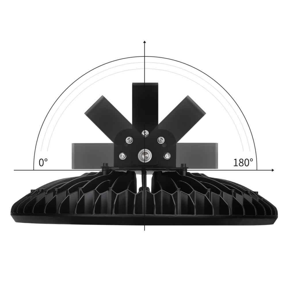 200W lampa górnicza LED W kształcie UFO światła 110V 2835 koraliki do lampy efektywne oszczędzanie energii na świeżym powietrzu IP65 wodoodporna lampa dla domów ogród