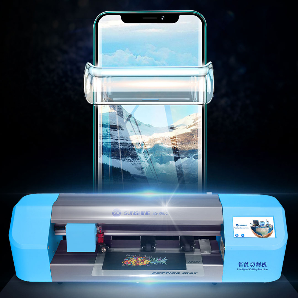 Image 3 - SS 890C smart laser precision cutting machine  for mobile phone LCD screen protect Water coagulation membrane cutting ToolPower Tool Sets   -