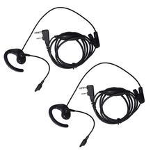 все цены на 2 PACK Earpiece Headset for Baofeng Kenwood Talkabout Walkie Talkie Two Way Radio онлайн