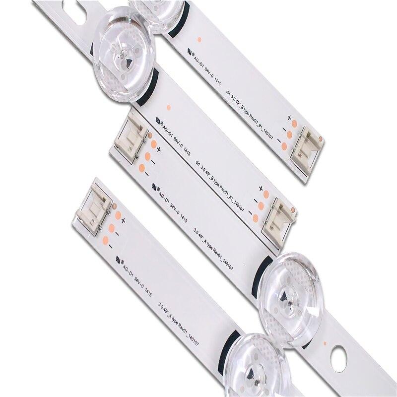 """עכברים - מקלדות new10pcs רצועת LED עבור LG Innotek ד.ר.ת 3.0 49"""" A / B 49LB5500 49LB550V 49LB5550 6916L-1944A 6916L-1945A 6916l-1788A 6916l-1789A (5)"""