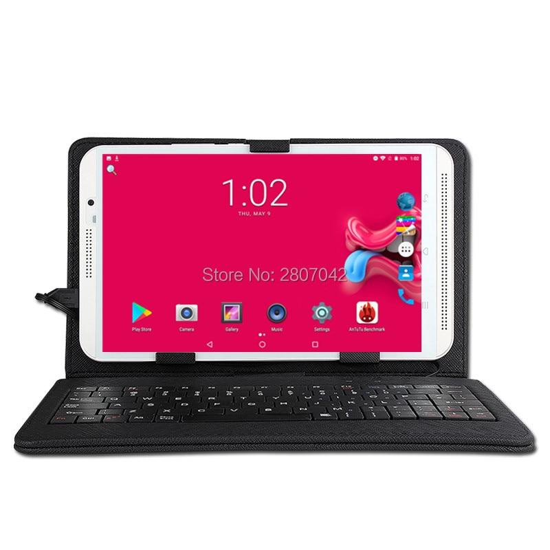 8 Inch Tablet Pc Android 9.0 Octa Core 1280*800 IPS RAM 6GB ROM 64GB Dual SIM Card  WIFI 8MP Camera Smart Tablets +USB Keyboard