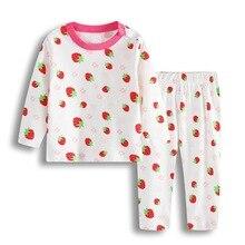 Пижама для новорожденных из мягкого хлопка; пижамные костюмы для маленьких девочек; пижамы для малышей с героями мультфильмов; одежда для сна; комплекты одежды с длинными рукавами