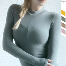 Yoga Seamless Long Sleeve Womens Fitness Suit Sports Tops Gym Women Clothing shirts Crop Top Sexy Shirt