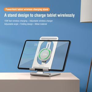 NILLKIN Tablet bezprzewodowy stojak ładujący do ipada Pro Air 15W szybka bezprzewodowa ładowarka do tabletu Samsung S6 Huawei MatePad