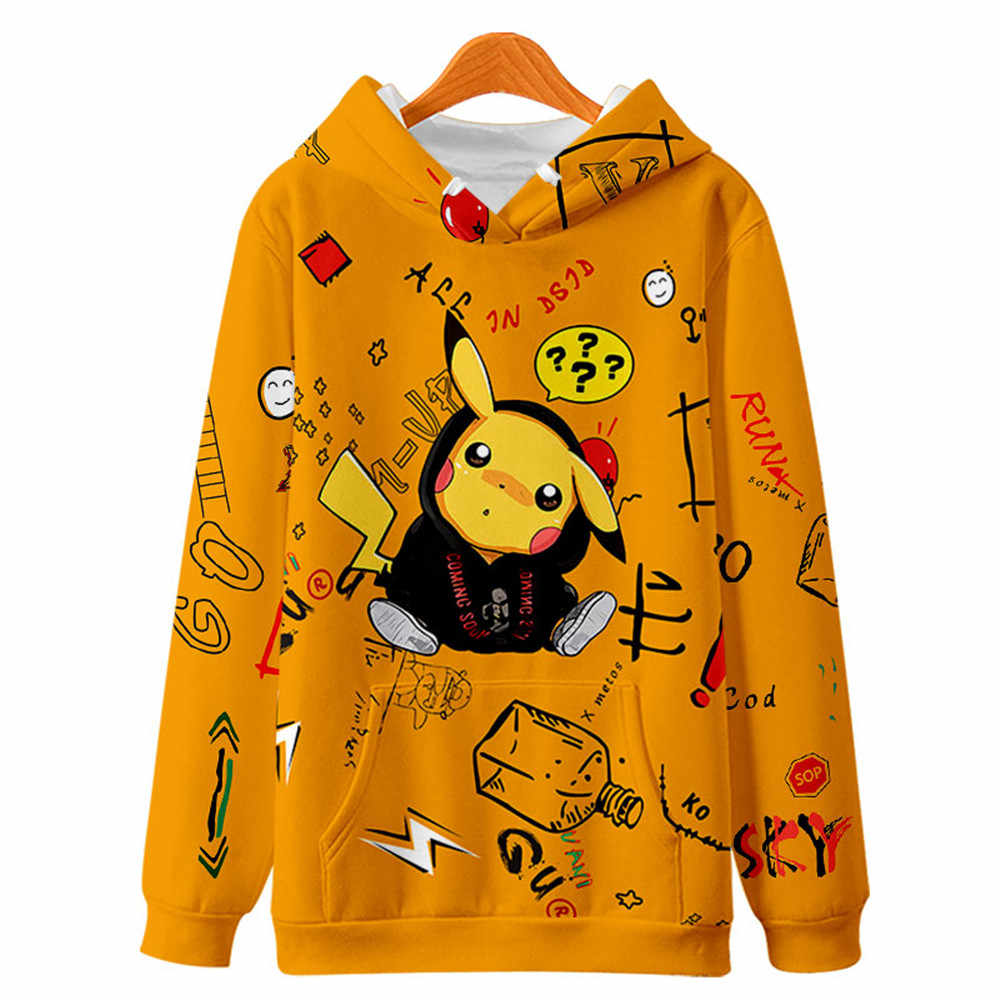 2019 Animal Crossing Hoodies Kpop Hoodie Sweatshirts Mannen Hip Hop 3D Print Hooded Causale Joker Truien Kleding Streetwear