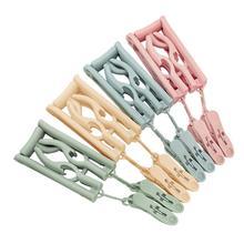 4 шт. складные Волшебные вешалки для одежды портативные Противоскользящие вешалки для одежды с зажимом дорожные сушилки для одежды для путешествий