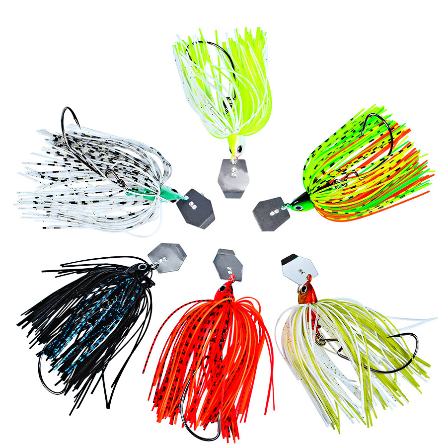 1pc Crankbait Tackle Fishing Lure Sea Chatterbait Spinnerbait Hard Bait Artificial Weights 15-20g Wobbler For Pike Fish Trolling-5