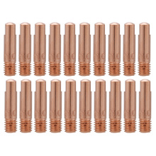 20Pcs Copper Contact Tip for 15AK MIG/MAG Welding Torch Consumables Holder Gas Nozzle Copper