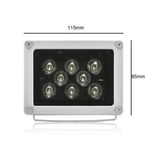 Image 3 - CCTV LED S, étanche, 8 pièces, rangée de Led Led, illuminateur à infrarouge, lampe à infrarouge pour lextérieur, Vision nocturne pour caméra IP