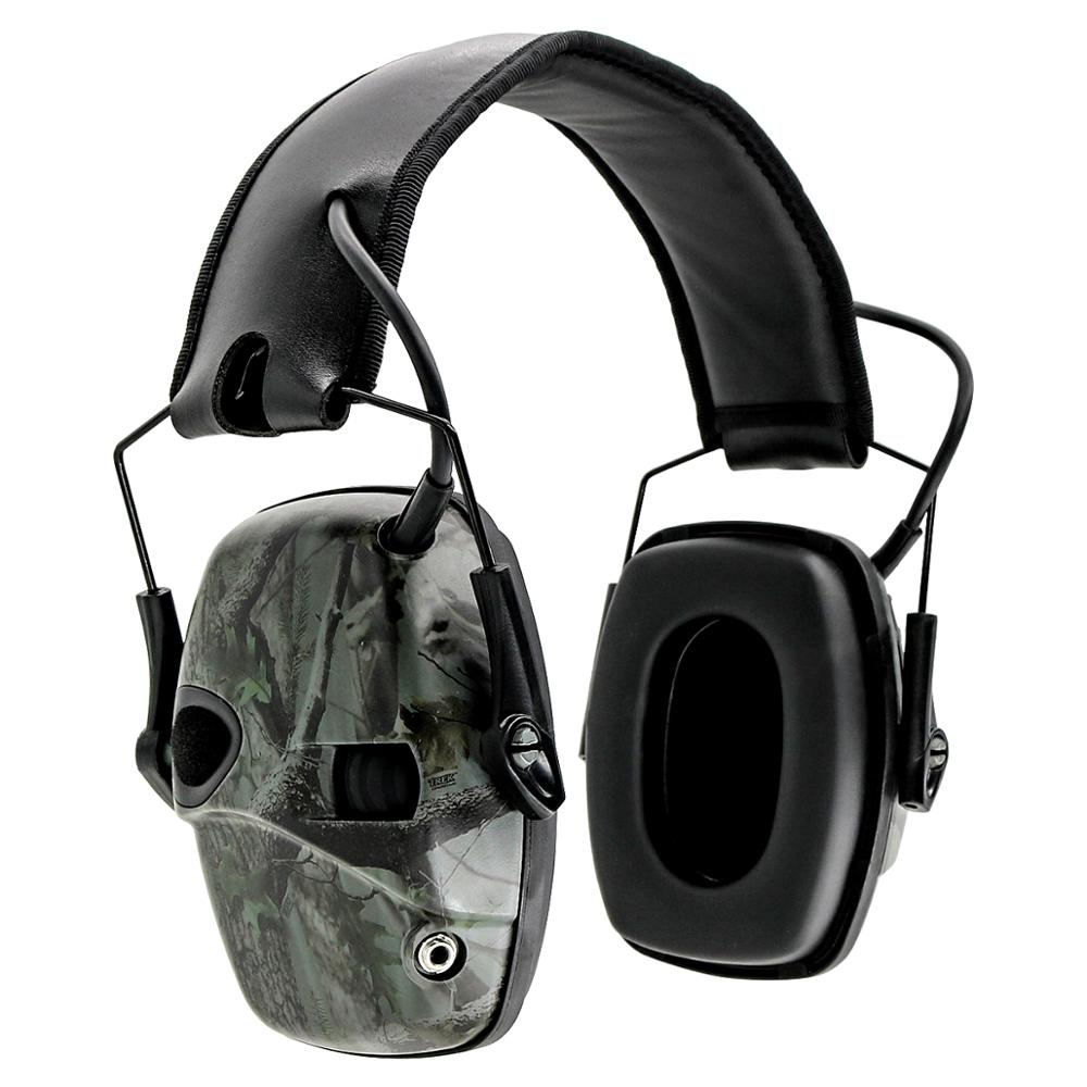 Tactical Headset Electronic Shooting Earmuff Anti-noise Headphone Sound Amplification Hunting Hearing Protection Tactical Earmuf