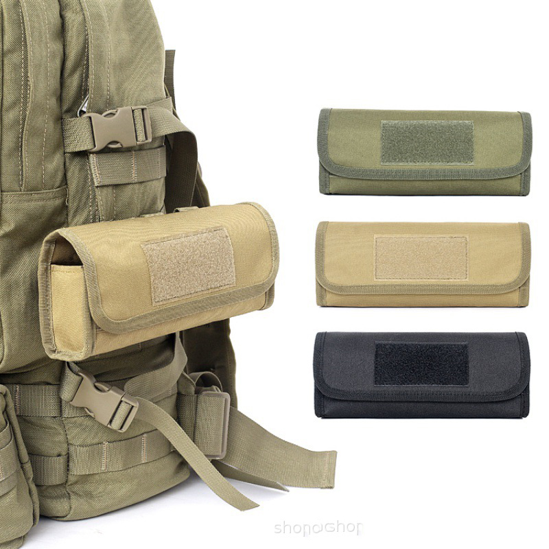 Molle Tactical 14 Rounds Shotgun 12//20GA Shell Holder Ammo Cartridge Pouch Tan