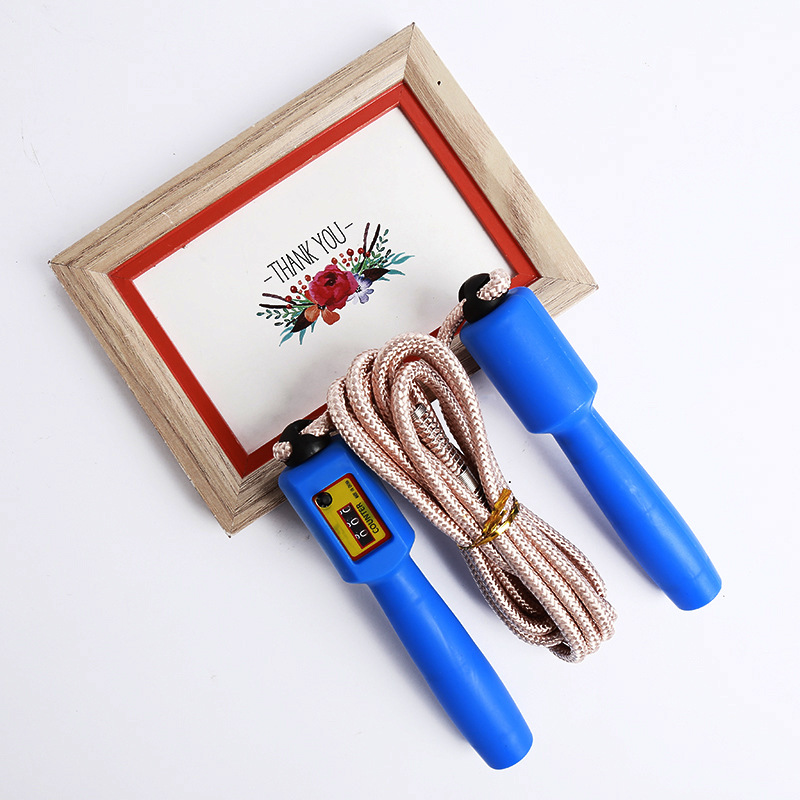 2019 New Style Cotton Rope Braided Rope Automatic Counting Jump Rope Creative Durable Wear-Resistant Outdoor Sports Jump Rope
