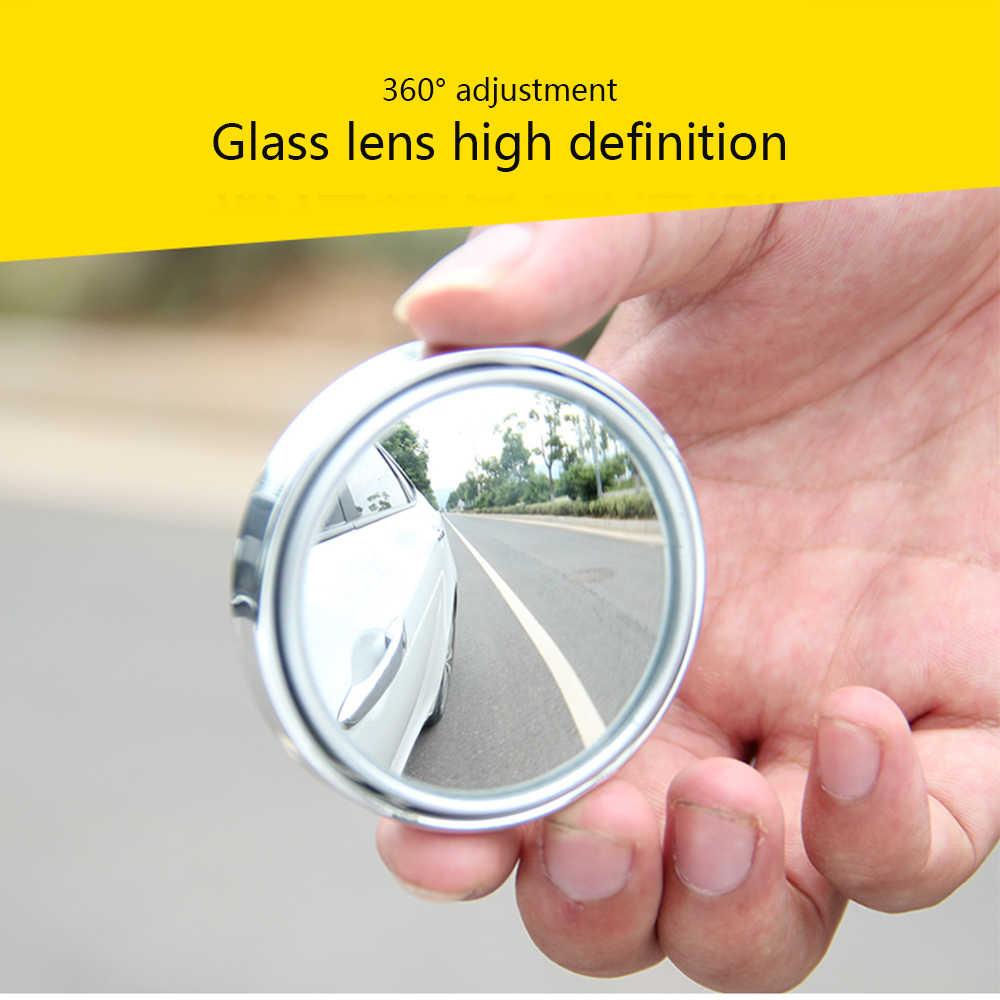 360 תואר רוטרי Push רכב אחורי להציג מראה קטנה מראה עגול גדול ראיית ההפוך Assist כתם עיוור מראה אביזרי רכב