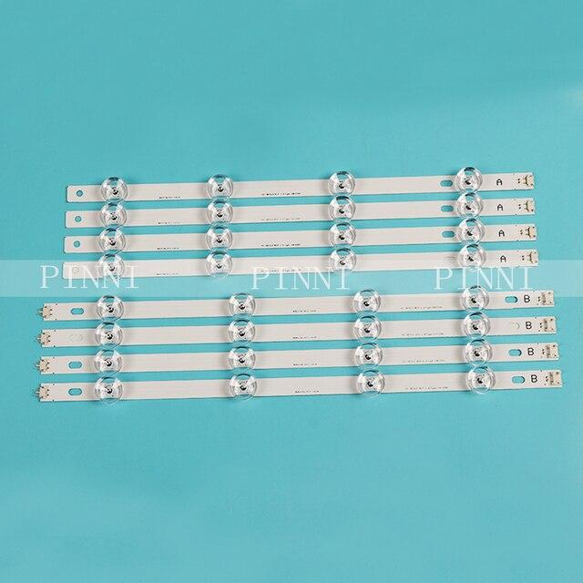 """100% Nieuwe 4A + 4B Led Backlight Strip Voor Lg 42Inch Tv Innotek Drt 3.0 42 """"6916L 1709B 1710B 1957E 1956E 6916L 1956A 6916L 1957A"""