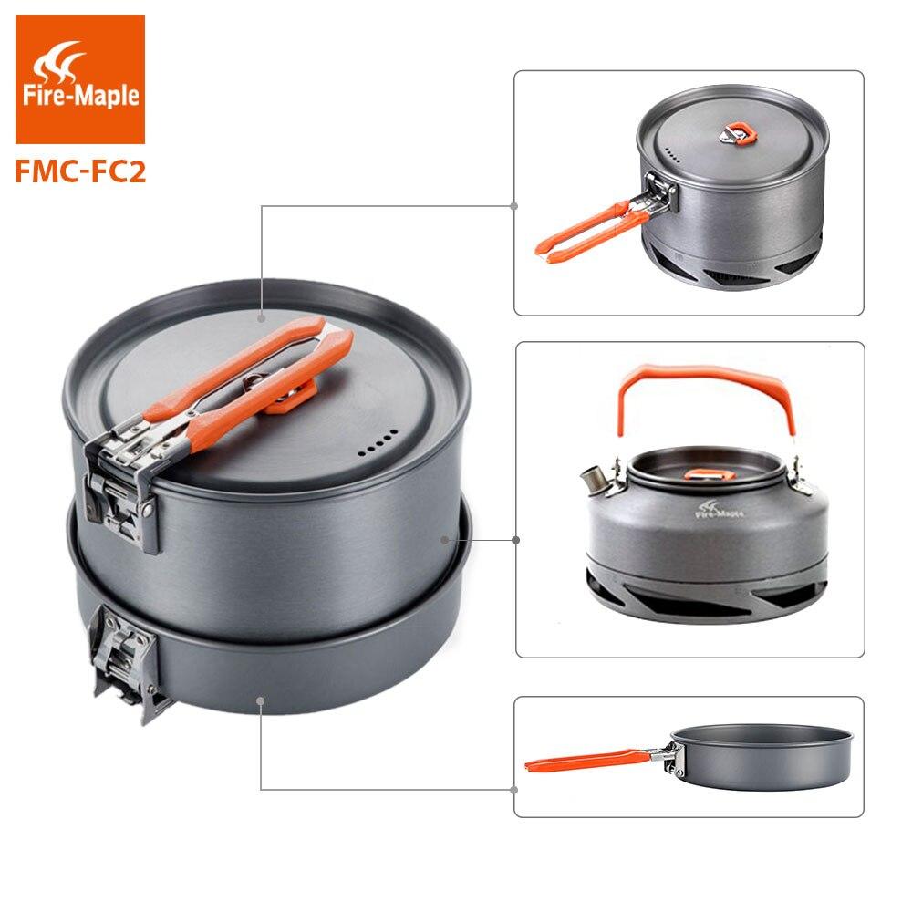 fogo maple utensilios de acampamento pratos conjunto 01