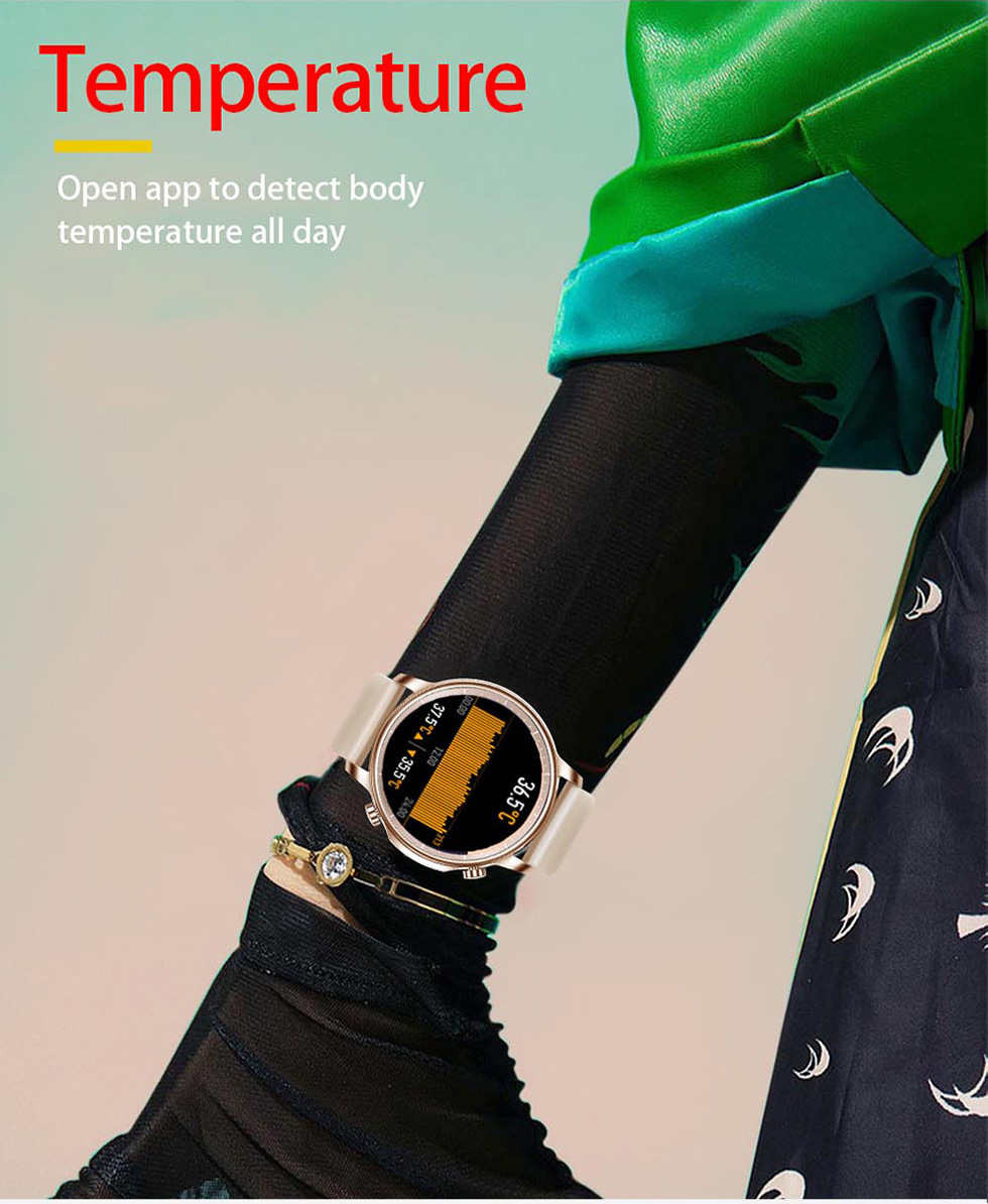 COLMI V23 Pro Temperature Women Smart Watch 2
