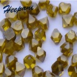 Gratis verzending hoge kwaliteit 5 stks/partij single-crystal synthetische diamant 2.2mm met 0.109 g/stks effen kunstmatige diamant korrel
