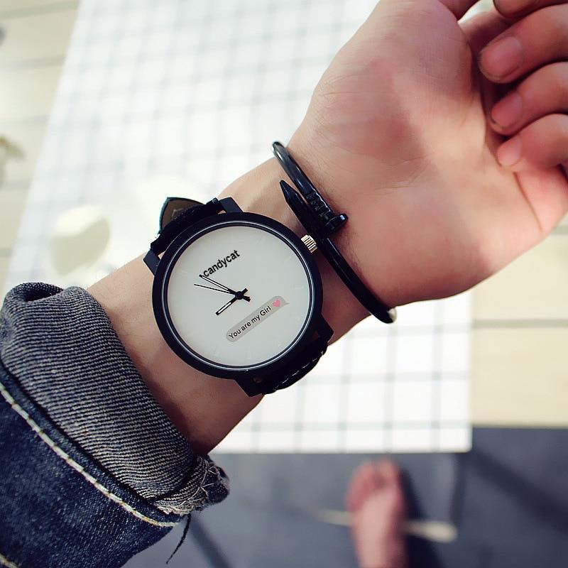 2019 Simple Fashion Couple Watch New Women Watches Ladies Watch Female Quartz Wristwatch Waterproof Relogio Feminino Reloj Mujer