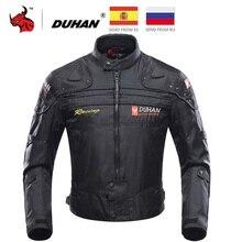 DUHAN Motorcycle Jacket Men Jaqueta Motociclista Motorbike Riding Jacket Autumn Winter Moto Motocross Clothing Black