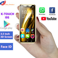 Luxury Mini Mobile phone K TOUCH I9S 16GB ROM Android Telephone Google play Store Face ID GPS WiFi Smallest Children Smartphone