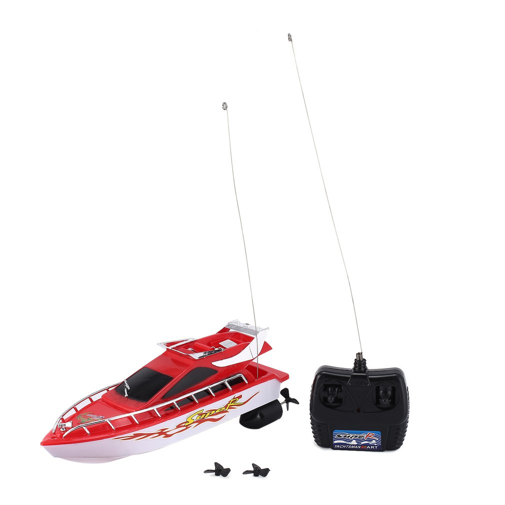 C101A Mini Radio Remote Control RC High Speed Racing Boat Speed Ship for Kids Children Gift Present Toy Simulation Model image