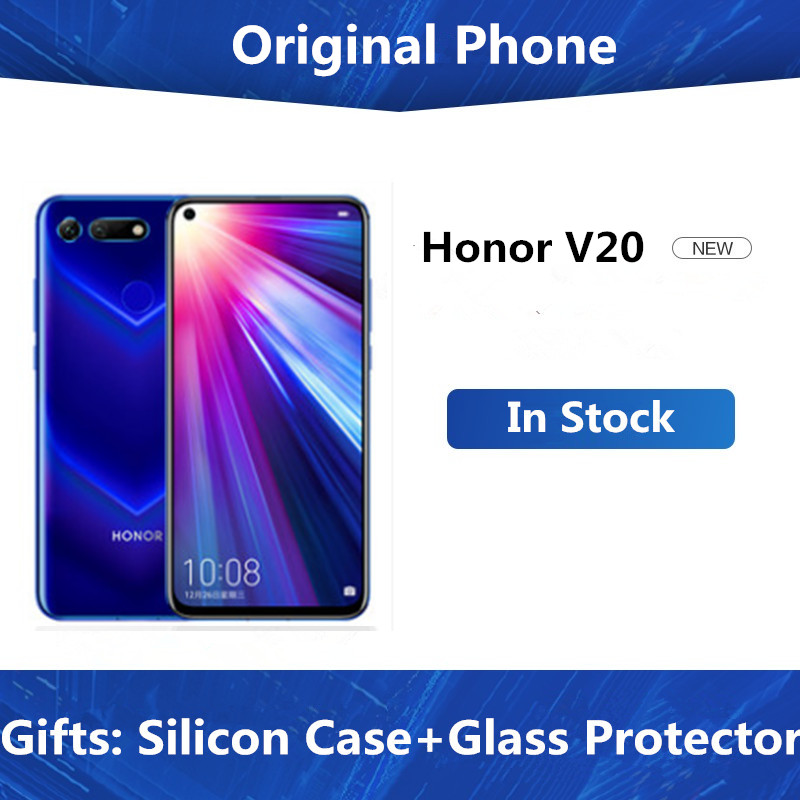 Original Honor View 20 Mobile Phone Honor V20 6.4