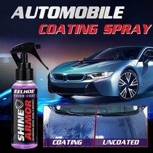 120ml Car Nano Ceramic Coating Polishing Spraying Wax For Auto Agent Ceramic Car Wash Fortify Quick Coat Polish & Sealer Spray