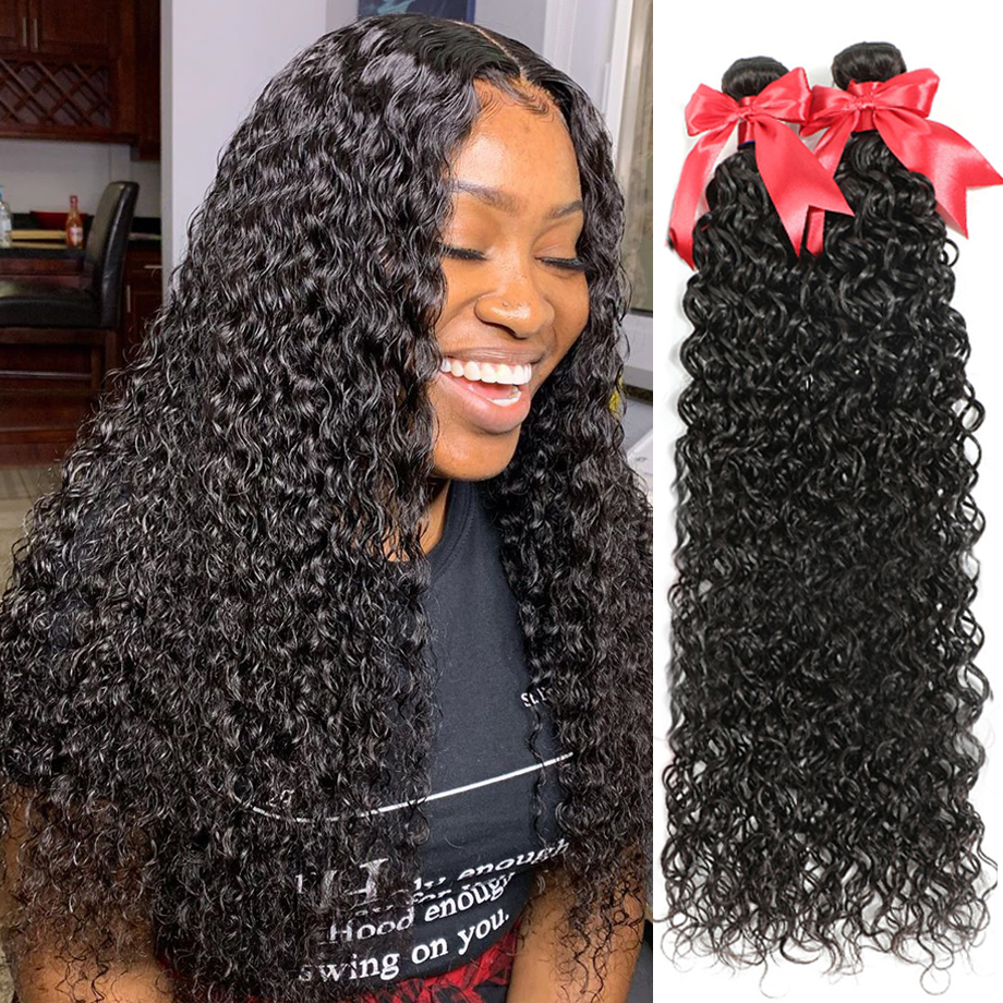 Deep Wave Bundles Deep Curly Hair s Water Wave Bundles 30 Inch  s   Bundles 1
