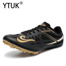 YTUK High Quality Track and Field Men Women Training Athletic Shoes Professional Running Track Race Jumping Soft Shoe Sneakers