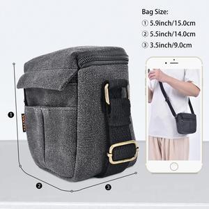 Image 3 - Fusitu – sac à bandoulière pour appareil photo, pour Canon EOS M100 M50 M10 M6 M3 M2 SX540 SX530 SX520 SX510