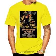 Mens film T-shirt 1956 Forbidden Planet Movie poster
