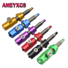 Archery Cushion Plunger Arrow Rest Pressure Button 7 Color Tension Screw on For Recurve Bow Hunting Shooting Accessories