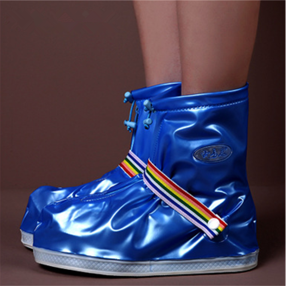 Anti-Slip Reusable Elastic Shoes Boot Cover Unisex Waterproof Protector Rain Shoe Covers Rainy Day Outdoor Shoes Aiyoway