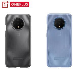 Image 5 - מקורי Oneplus 7T מקרה המניה HD1903 הרשמי תיבת 100% מקורי (מחירים בתפזורת) oneplus 7T סיליקון ניילון אבן חול Karbon כיסוי
