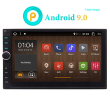 цена на Android Double Din Car Radio GPS Head Unit Car Stereo Bluetooth Wifi 2 Din Android 9.0 7