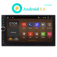 Android Double Din Car Radio GPS Head Unit Car Stereo Bluetooth Wifi 2 Din Android 9.0 7Touchscreen Quad core 2+32GB DAB OBD