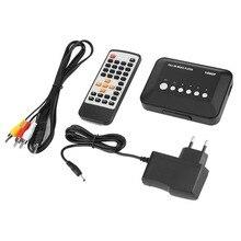 1080P Full HD SD/MMC ТВ видео SD MMC RMVB MP3 мульти ТВ USB HDMI медиа-плеер с пультом дистанционного управления Управление