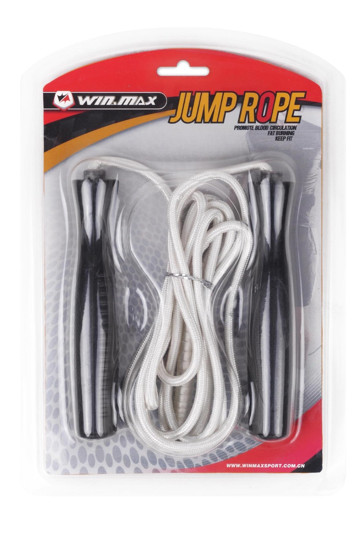[Wei Masi] Jump Rope Nylon Double Layer Weaving Plastic Handle Adult Children Sports Fitness Training Rope