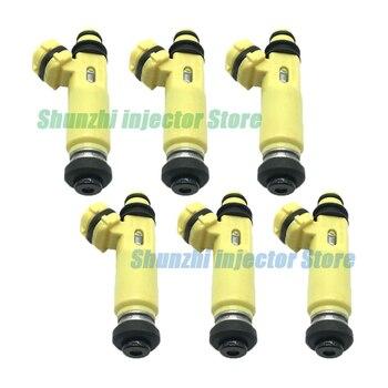 6pcs Fuel Injector Nozzle For  Mazda 297-0041 425cc original RX8 MX5  High performance E85 fuel nozzle 195500-4450 1955004450