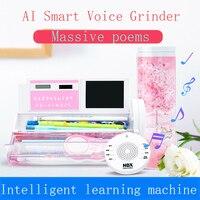 크리 에이 티브 다기능 스마트 펜 상자 Q & 학습 기계 펜 상자 학생 중국어 영어 교사 한국어 실린더 편지지 상자