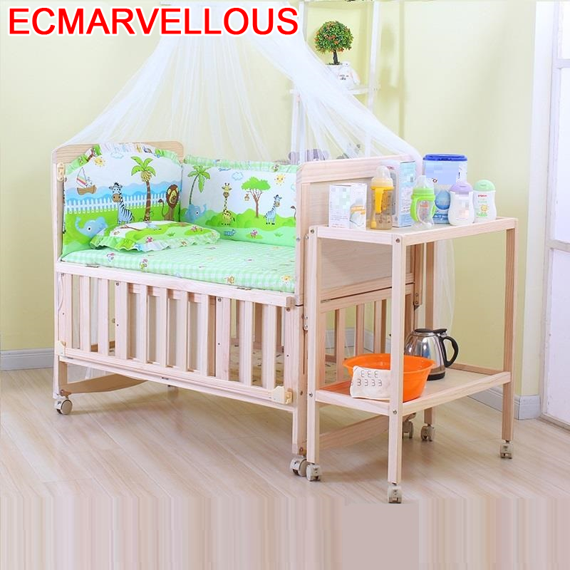 Child Lozeczko Dzieciece Fille Girl Cama Individual Lozko Dla Dziecka Ranza Wooden Lit Kinderbett Chambre Enfant Kid Bed