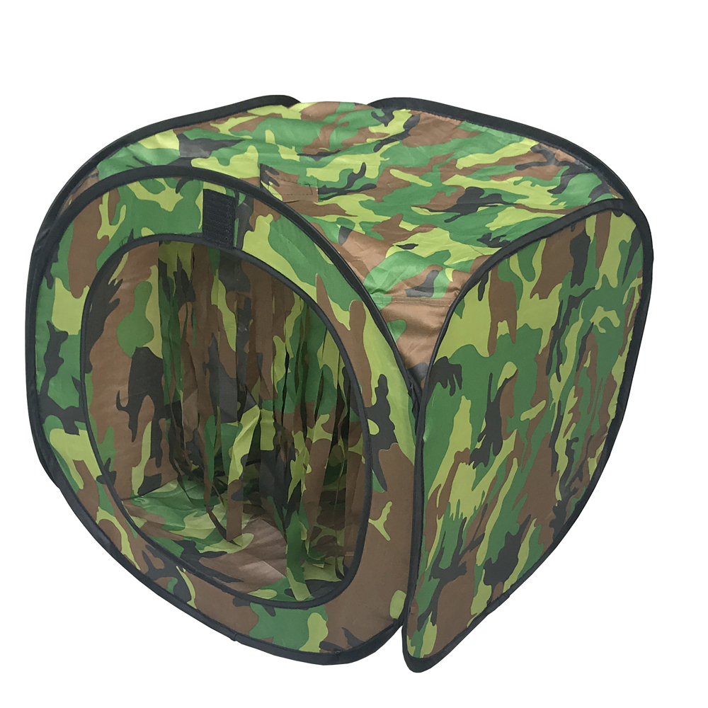 Portable Airsoft Tent Target With BB Trap