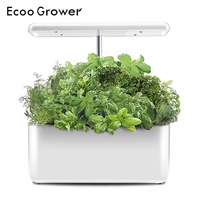 Ecoo Grower Hydroponics System Box Intelligent Full Spectrum Grow Light Indoor Kitchen Garden Planter Grow Lamp Family Gift