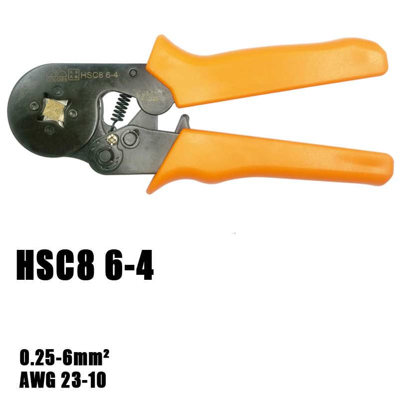 管状端子圧着ツールミニ電気プライヤー HSC8 10SA 0.25-10mm2 23-7AWG 6-4A/6-6A 0.25-6mm2 高精密クランプセット