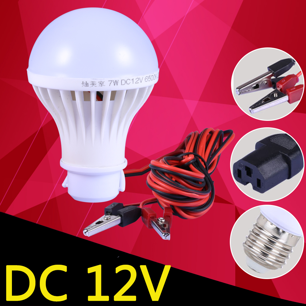 E27 Led Bulb DC 12V 24V 36V 12 Volt Led Lights 5W 9W 15W  Energy Saving Lampada Night Fishing Camp Tent Outdoor Lighting