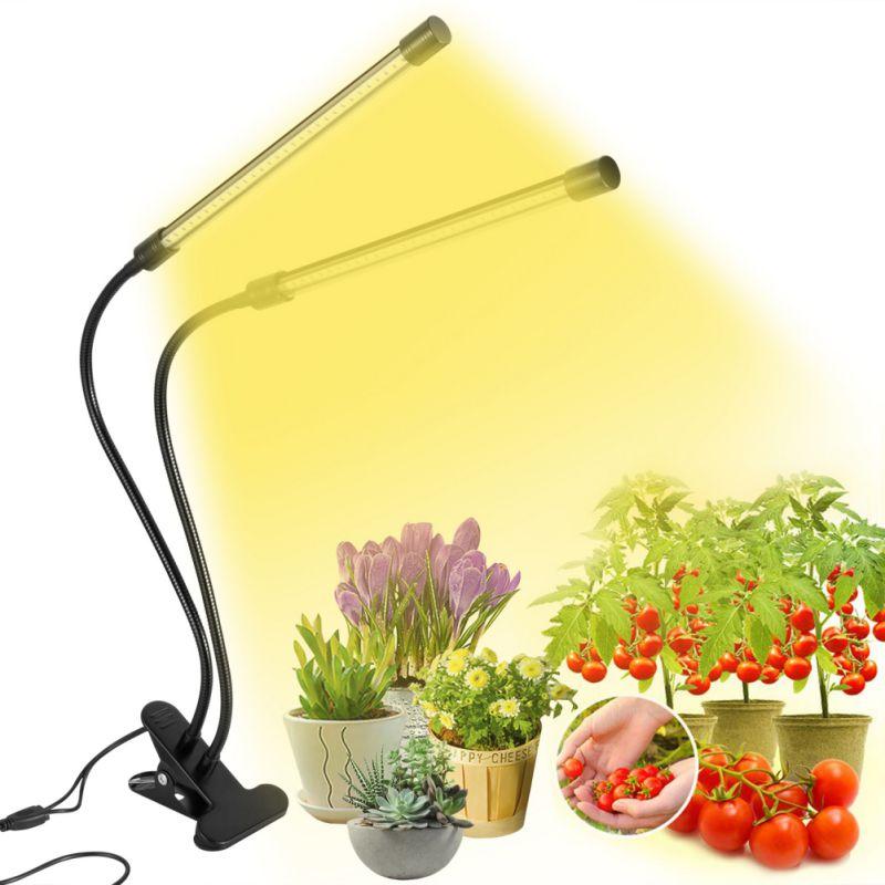 LED Full Spectrum Grow Light USB Power Lamp Flexible Clip Desktop Plant Growth Light For Flower Plant DC5V 3W 9W 18W 27W