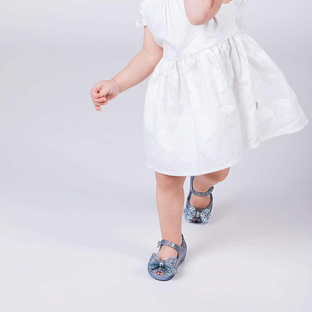 Mini Melissa Sneeuw Prinses Zeemeermin Prinses Meisje Sandalen 2020 Jelly Schoenen Sandalen Kids Sandalen Kinderen Strand Schoenen Peuter Schoen