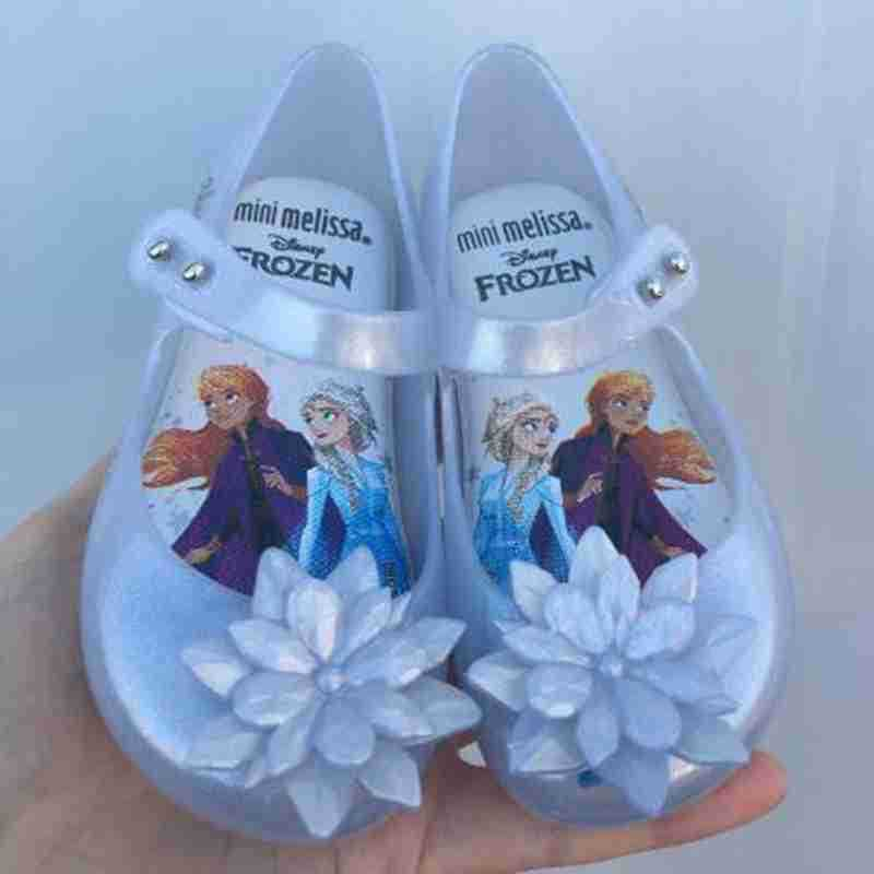 2020 New Mini Melissa Ultragirl Girl Jelly Shoes Sandals 2020 New Baby Shoes Soft Melissa Sandals For Kids Non-slip MN19019